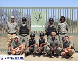 Vestguard UK help UmPhafa Staff with the fight against poaching!